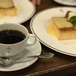 馬車道十番館 - トップフォト プディングロワイヤル オリジナルブレンドコーヒー