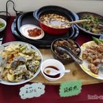 花の食品館 - 天ぷら、筑前煮、麻婆豆腐、からあげ、南蛮漬け