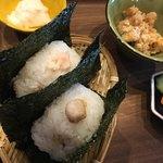 OMUSUBI CAFE - 鮭 鯛の利休漬け