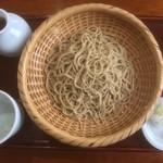 きなり - ざる蕎麦(800円)
