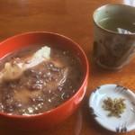 きなり - 蕎麦ぜんざい(650円)