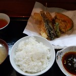 86561148 - 天ぷら定食A 900円