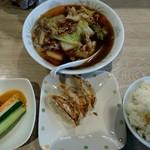 尾張タンメン野武士 - 料理写真:Aセット(お好きなタンメンの価格+250円)