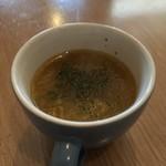 MINA - セットのスープ