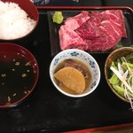 きっちょう - 和牛焼肉定食 ¥1500