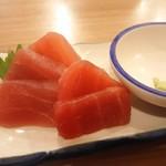晩杯屋 - マグロ 200円
