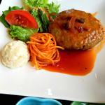 チューリップ館 - 煮込みハンバーグ