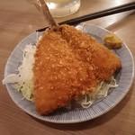 晩杯屋 - アジフライ 110円