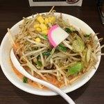 86565936 - 辛タンメン+野菜増し