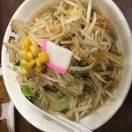 86566883 - 塩タンメン+麺増し