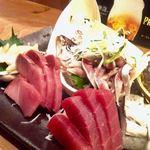 宇田川町魚金 - マグロ、なんか光る魚。