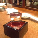宇田川町魚金 - なんとかという日本酒。