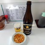 キッチングリーン - 瓶ビール500円