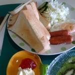 かすみ草 - 料理写真:550円にしては中々の内容