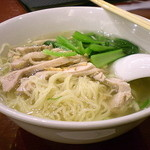 中華ダイニング 唐庄酒家 - 鶏肉タンメン 750円