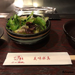 ニュー松坂 - 野菜サラダ