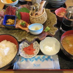 女川海の膳ニューこのり - 刺身定食 「七海」