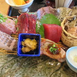 女川海の膳ニューこのり - 「七海」の刺身