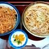 そば処 はるな - 料理写真:そば処 はるな@本郷三丁目 かき揚げ丼セット(620円)
