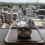 NHK放送技術研究所 食堂 - 砧公園を眺めるキツネそば