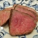 てっぱん割烹むら雲 - 島根県松永牧場産和牛クリ肉のステーキ