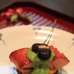 料理屋 真砂茶寮 - 金目鯛の若狭焼き