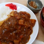 とんかつ山道 - ハーフカツカレー680円