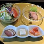 米澤牛DINING べこや - 前菜・サラダ・ローストビーフ