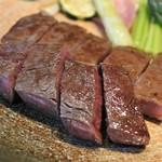 米澤牛DINING べこや - 米沢牛A5フィレ&サーロインステーキ