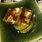 鮨処木はら - 料理写真:穴子煮こごり