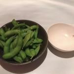 全席個室居酒屋 柚のしずく - 緑豆枝豆