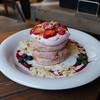 サンデービーチ - 料理写真:Spring pink berry berry pancake