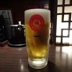 想吃担担面 - 生ビール(600円)