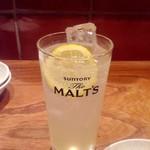 宇田川町魚金 - レモネードが美味しかった〜また飲みたいです。