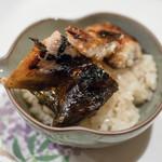 うを徳 - 2018.5 宍道湖天然鰻と茨城涸沼天然鰻のダブル蒲焼き丼