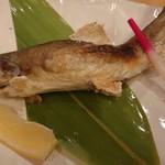 86585963 - 岩魚の塩焼き(税別680円)