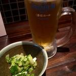 bal かのん - 料理写真:生ビール(^^♪