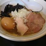 86586536 - 煮干濃麺HV  800円、味玉  100円