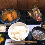 鈴木水産 - 料理写真:あじあじ定食
