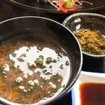 鈴木水産 - 魚の脂がのったお味噌汁