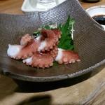 喜多郎寿し なんば店 - 明石小蛸の造り