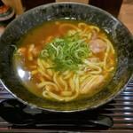 味味香 - 鶏肉カレーうどん(880円)