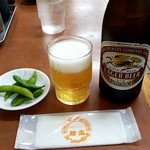 86596388 - 瓶ビール:580円