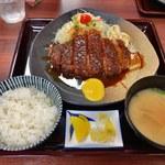矢田かつ - 味噌とんかつ定食 上