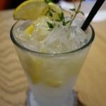 THE SPINDLE - (2018/4月)「レモン タイム エスプーマ ソーダ」