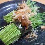 寿司処 都々井 - 芽ねぎ