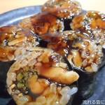 寿司処 都々井 - 穴子きゅうり巻