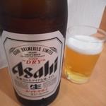 寿司処 都々井 - 瓶ビール