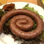 タンドール料理ひつじや - 羊肉のぐるぐるソーセージ660円