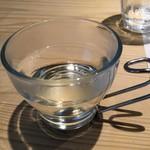 蛍雪の宿 尚文 - 黒文字のお茶